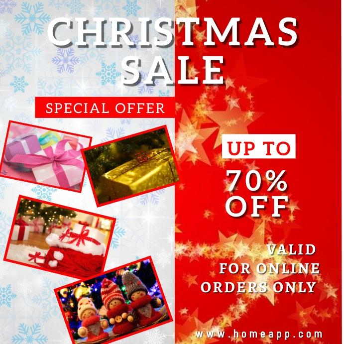 Christmas Sale Retail Instagram Template