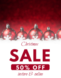 Christmas sale sale template