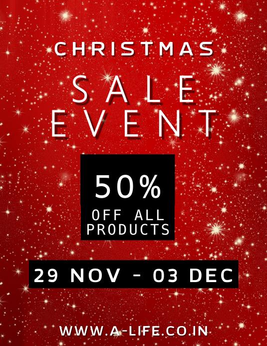 Christmas Sale Template
