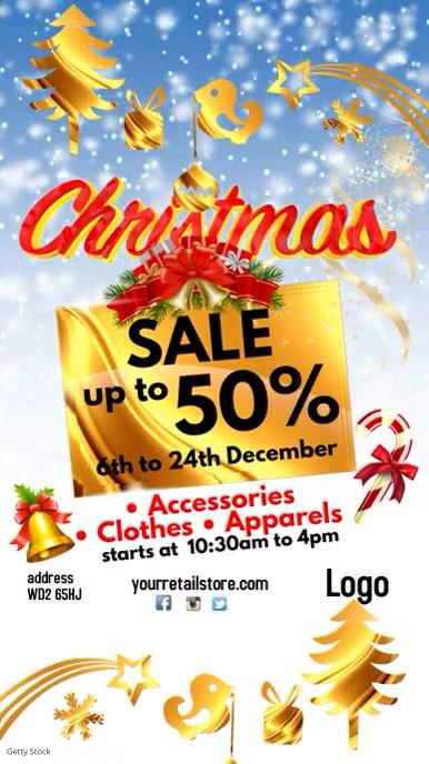 Christmas Sale Video