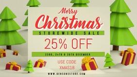 Christmas Sale Video Template