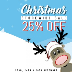 Christmas Sale Video Template