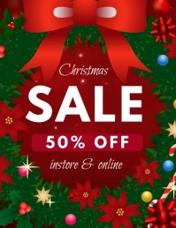 Christmas sale videotemplate