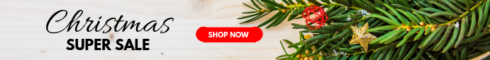 Christmas Sale Web Banner Template