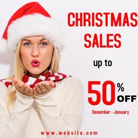 Christmas sales advertisement