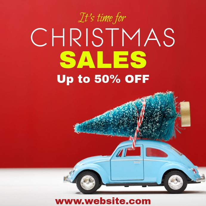 Christmas sales and maggiolino up to 50% off