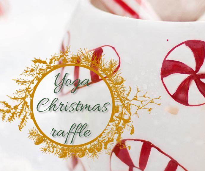 Christmas sales fair facebook share page Persegi Panjang Sedang template
