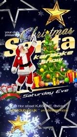 Christmas Santa Karaoke Show
