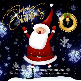 Christmas Season Greetings Instagram
