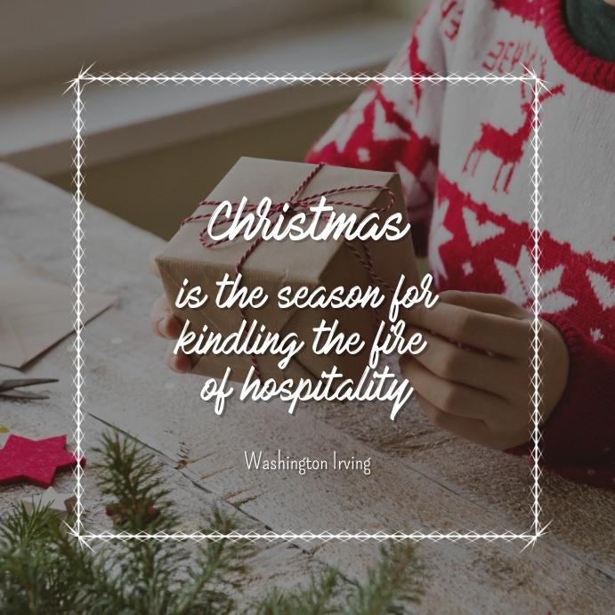Christmas Season Quote Instagram Post