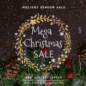 Christmas Season Sale video Template