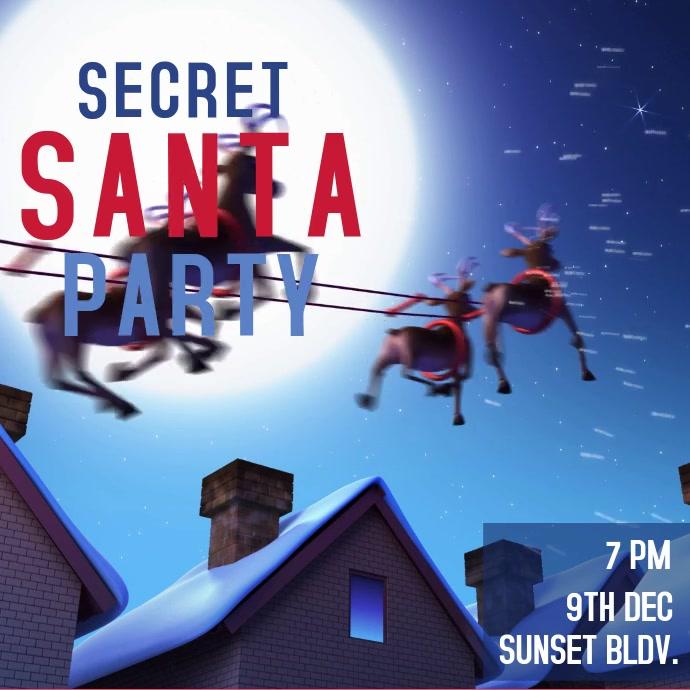 Christmas Secret Santa Party