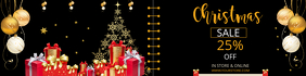 CHRISTMAS SHOPPING FLYER and banner TEMPLATE