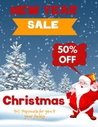 CHRISTMAS SHOPPING FLYER TEMPLATE Pamflet (VSA Brief)