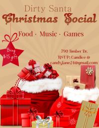 Christmas social party