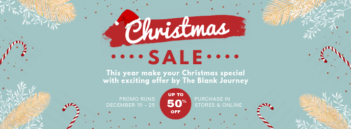 Christmas Special Apparel Sale Banner