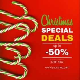 Christmas Special Deals Discount Offer Promo