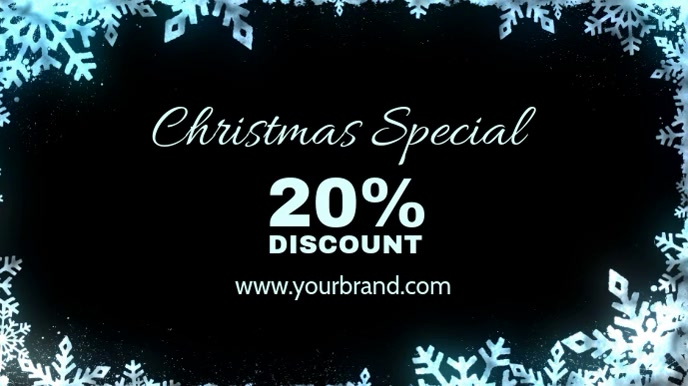 Christmas Special Discount Sale Price Off Ad