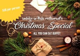 Christmas Special menu