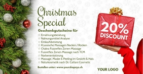 Christmas Special Offer Discount Price Off Ad