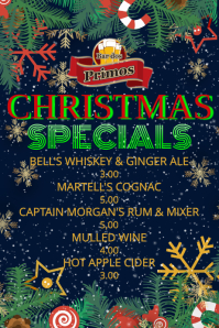 Christmas Specials Flyer