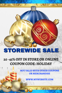 Christmas Storewide Sale Template