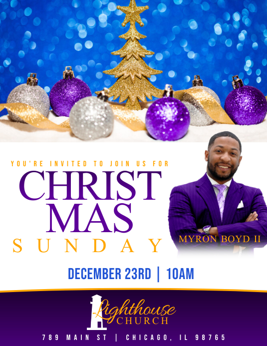CHRISTMAS SUNDAY FLYER