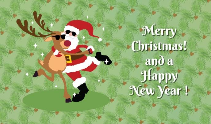 Christmas Tag 标记 template