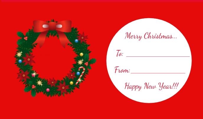 Christmas Tag/Gift Tag
