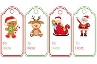 Christmas Tags Ilebula template