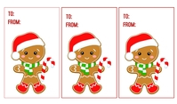 Christmas Tags Tanda template