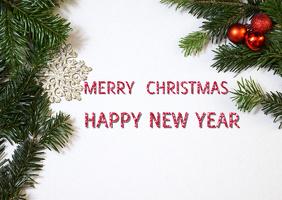 Christmas Template Poskaart