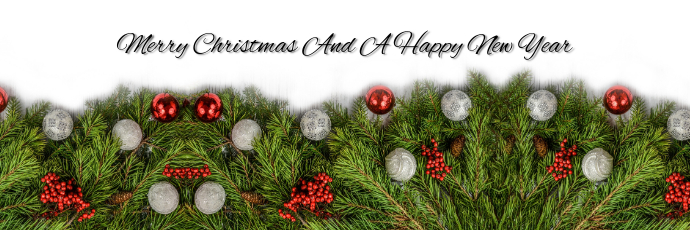 Christmas Template Tajuk Twitter