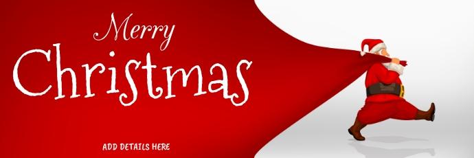Christmas Template Twitter Opskrif