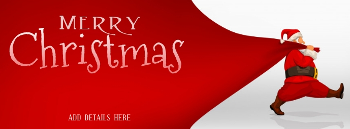 Christmas Template Facebook-Cover