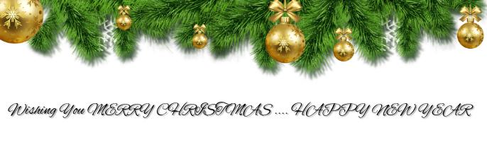 Christmas Template Imagen de Fondo de LinkedIn