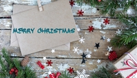Christmas template Nagłowek bloga