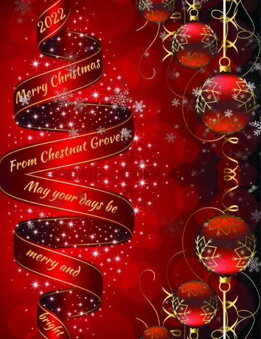 Christmas Template Folder (US Letter)