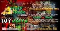 Christmas Toy Drive auf Facebook geteiltes Bild template