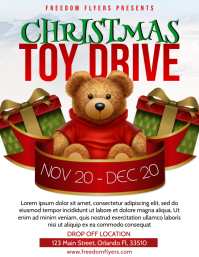 Christmas Toy Drive Fyer