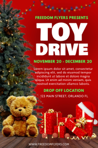 Christmas Toy Drive Poster