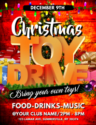 15 280 customizable design templates for toy drive template