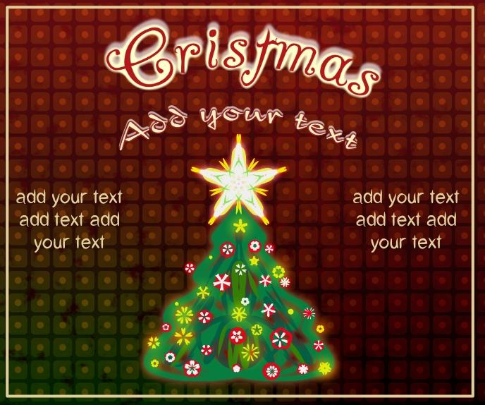 Christmas tree, star and decor