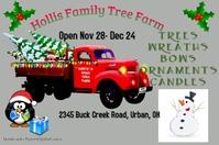 christmas tree flyer