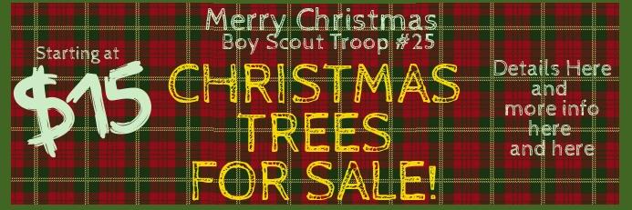 Christmas Tree Sale Banner 2x6