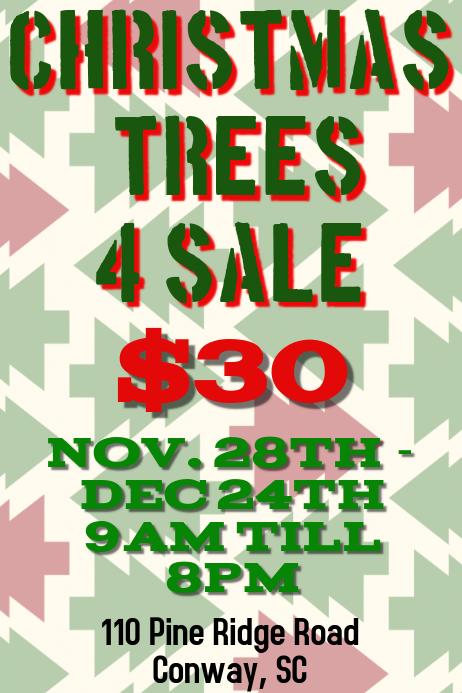 Christmas Trees 4 Sale