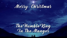 Christmas Video And Audio Card Template