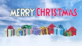 Christmas video sales display