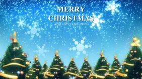 CHRISTMAS VIDEO TEMPLATE Digitale Vertoning (16:9)