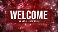 Christmas Welcome video